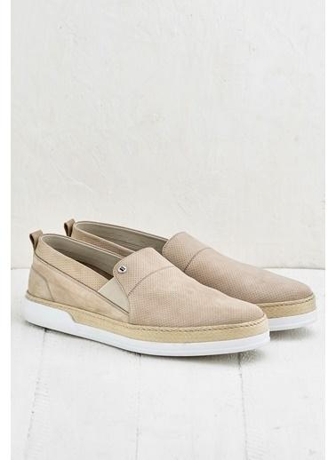 Elle Deri Ayakkabı Camel
